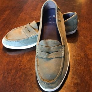 Cole Haan Shoes - COLE HAAN Nantucket Loafer Boat Shoe